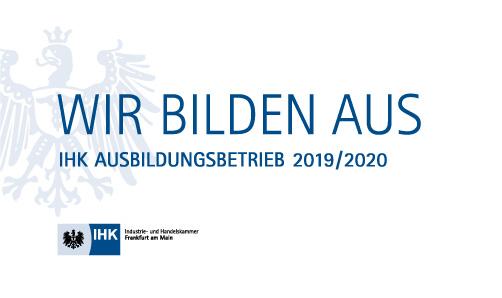 IHK-Logo Ausbildungsbetrieb 2019-2020